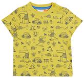 John Lewis Crocodile Garden T-Shirt, Lime