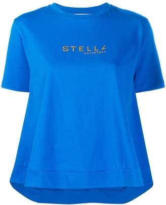 Stella McCartney logo printed T-shirt