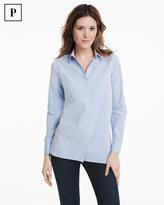 White House Black Market Petite Oxford Shirt