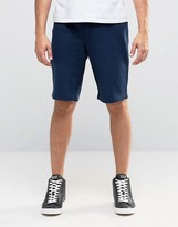 Armani Jeans Sweat Shorts With Logo In Navy