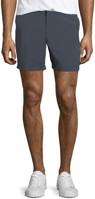 Orlebar Brown Men's Bulldog Sport Shorts, Black