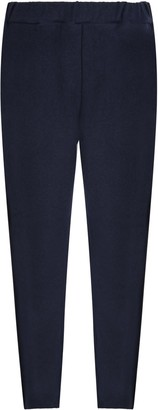 Douuod Blue Pants For Boy With Logo