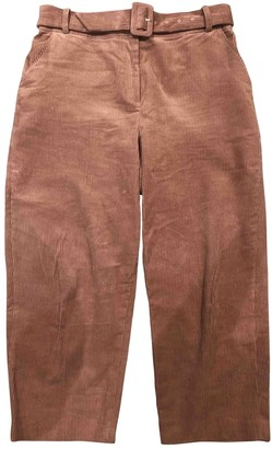 Whistles Pink Trousers for Women