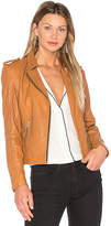 Doma Biker Jacket in Cognac. - size M (also in )