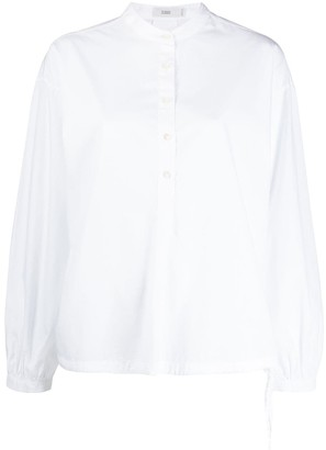 Closed Mandarin collar shirt