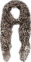 Terese Leopard Print Scarf