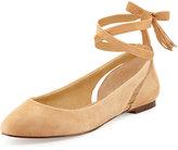 Splendid Jerrie Ankle-Wrap Ballerina Flat