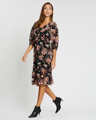 Vero Moda Wilma 3/4 Calf Dress