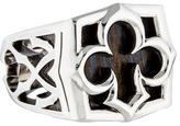 Stephen Webster Aces Tiger Iron Signet Ring w/ Tags