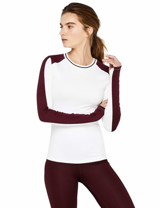 Aurique Amazon Brand Women's Super Soft Long Sleeve Running Top