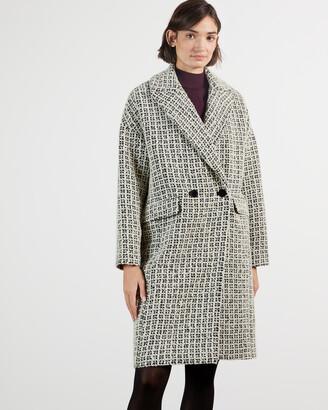 Ted Baker LIEPA Cocoon coat