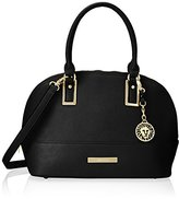 Anne Klein Shimmer Down Satchel Bag