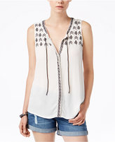 Sanctuary Simone Embroidered Top