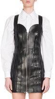 Givenchy Cotton Poplin Menswear Shirt, White
