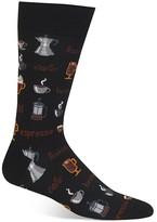 Hot Sox Coffee Shop Socks