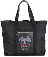 Alexander McQueen studded skull tote - women - Calf Leather/Nylon - One Size