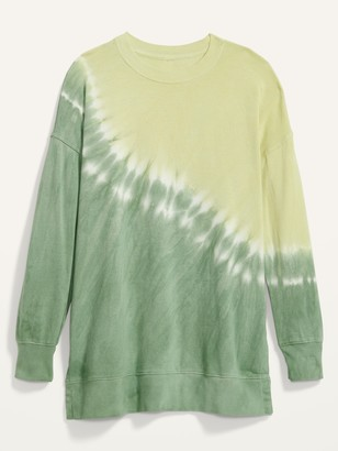 Old Navy Oversized Specially Dyed Tunic Sweatshirt for Women