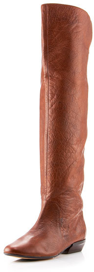 Dolce Vita Over-the-Knee Flat Riding Boot, Brown
