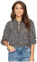 Amuse Society Jasper Woven Top Women's Clothing