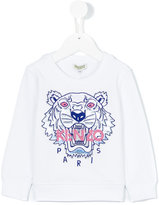 Kenzo Tiger sweatshirt - kids - Cotton/Viscose - 24 mth