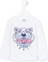 Kenzo Tiger sweatshirt - kids - Cotton/Viscose - 24 mth