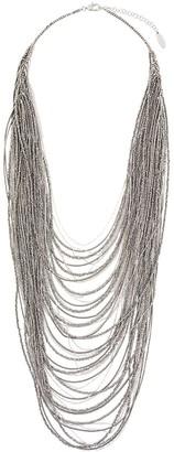 Brunello Cucinelli Vetro waterfall necklace