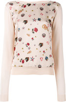 Class Roberto Cavalli printed sweatshirt - women - Silk/Viscose - 42