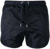 Neil Barrett tonal print swim shorts - men - Polyester - M