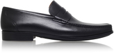 Magnanni Leather Penny Loafer In Black