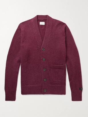 Aimé Leon Dore Knitted Cardigan - Men - Purple
