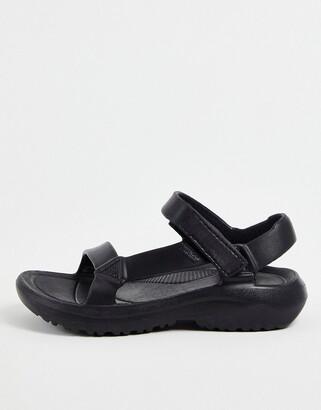 Teva Hurricane Drift sandal in black