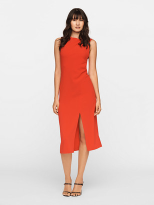 Diane von Furstenberg Mina Stretch Crepe Midi Dress
