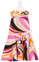 Emilio Pucci Junior tie waist printed dress