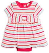 Kate Spade Infant Girls' Striped Ribbed Dress - Sizes 3-9 Months