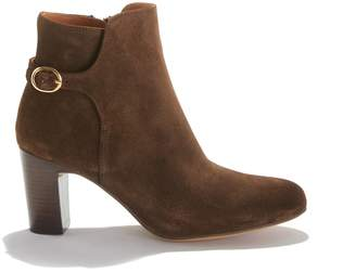 Anthology Paris Gedeon High-Heeled Boots in Suede