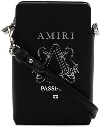 Amiri Passport pouch bag