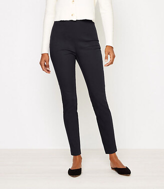 LOFT Tall High Waist Side Zip Skinny Leggings