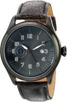 Akribos XXIV Men's AK785BK Analog Display Swiss Quartz Watch