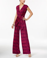 MICHAEL Michael Kors Printed Wrap Jumpsuit