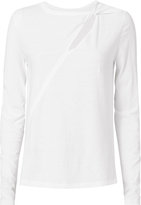 A.L.C. Zadie Cutout Long-Sleeved Tee