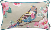 Cath Kidston Meadowfield Birds Applique Bird Cushion