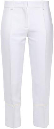 Emilio Pucci Cropped Woven Slim-leg Pants