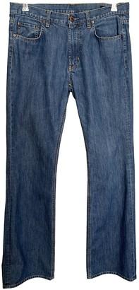 Miu Miu Blue Cotton Jeans