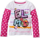 Sesame Street elmo mock-layer tee - toddler