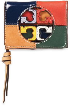 Tory Burch Color-block Leather Wallet