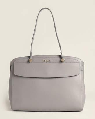 Furla Stella Leather Tote Bag