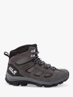 Jack Wolfskin Vojo 3 Texapore Women's Waterproof Walking Boots, Tarmac Grey/Pink