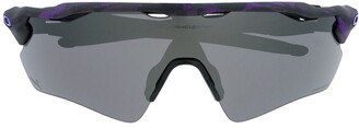 Oakley Purple Trim Oversized Sunglasses