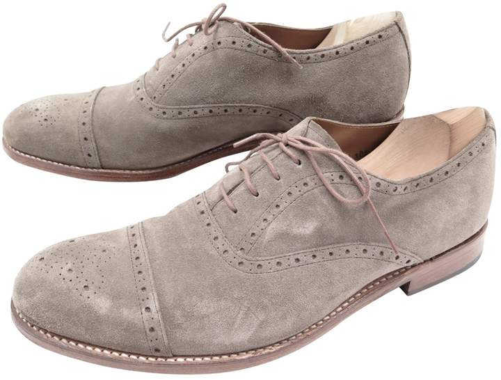 Grenson Grey Suede Boots