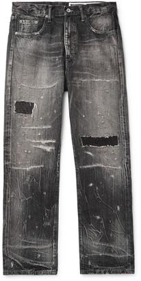 Neighborhood Distressed Denim Jeans